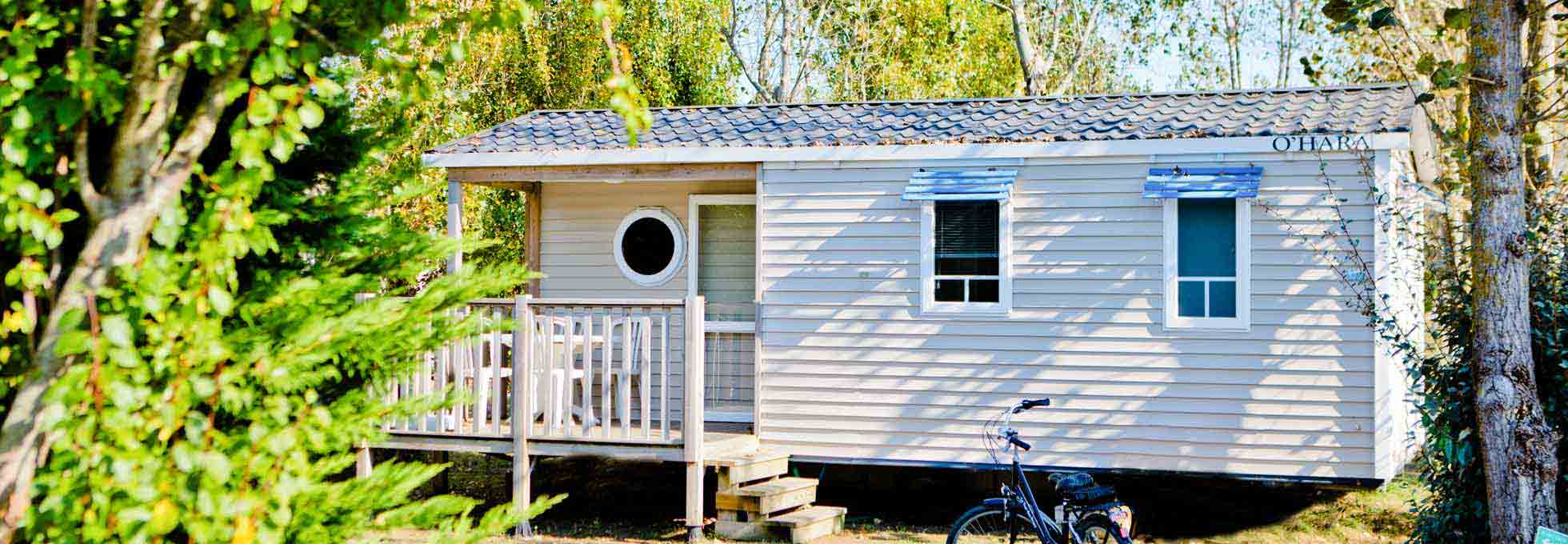 Location mobil home Confort sur l'ile de Re