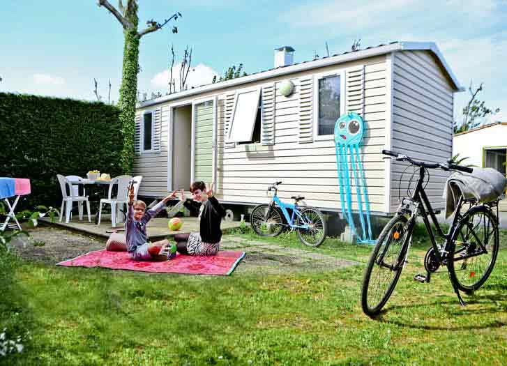 mobil home en location sur l'ile de ré