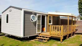 location mobil home luxe ile de Re