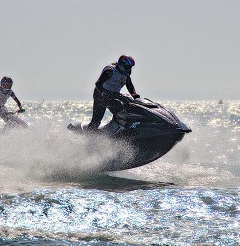 jet-ski a l'ile de Ré