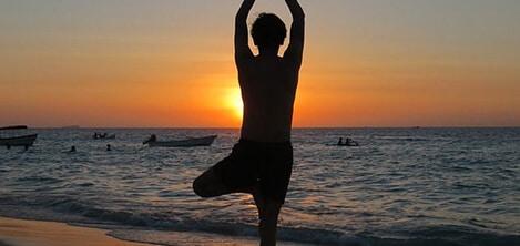 yoga sur l'ile de Ré