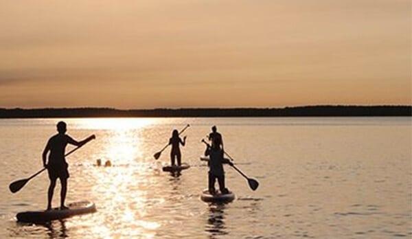 Paddle a l'île de ré