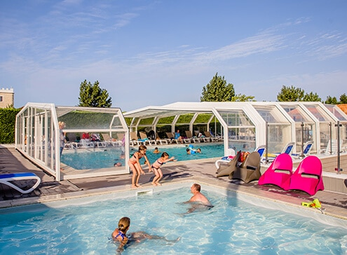 Rental campsite with swimming pool Charente Maritime