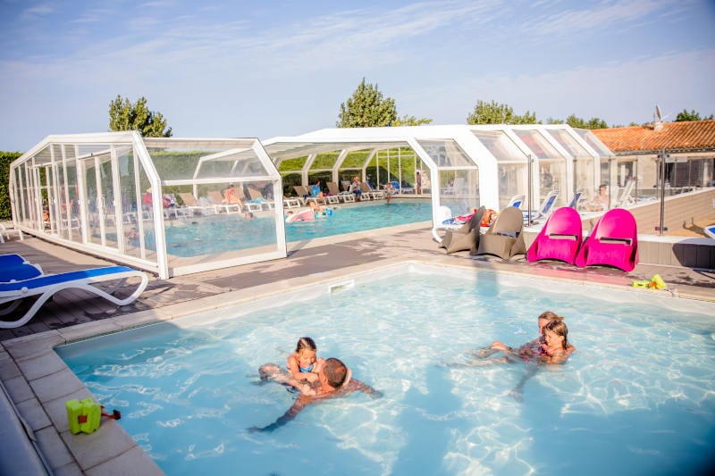 camping avec piscine ile de re