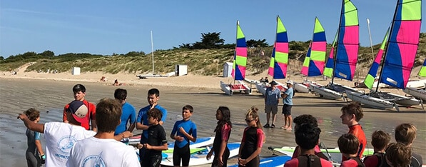 Windsurfing school Ile de Ré