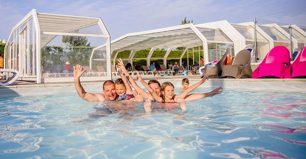 camping avec piscine couverte aquitaine