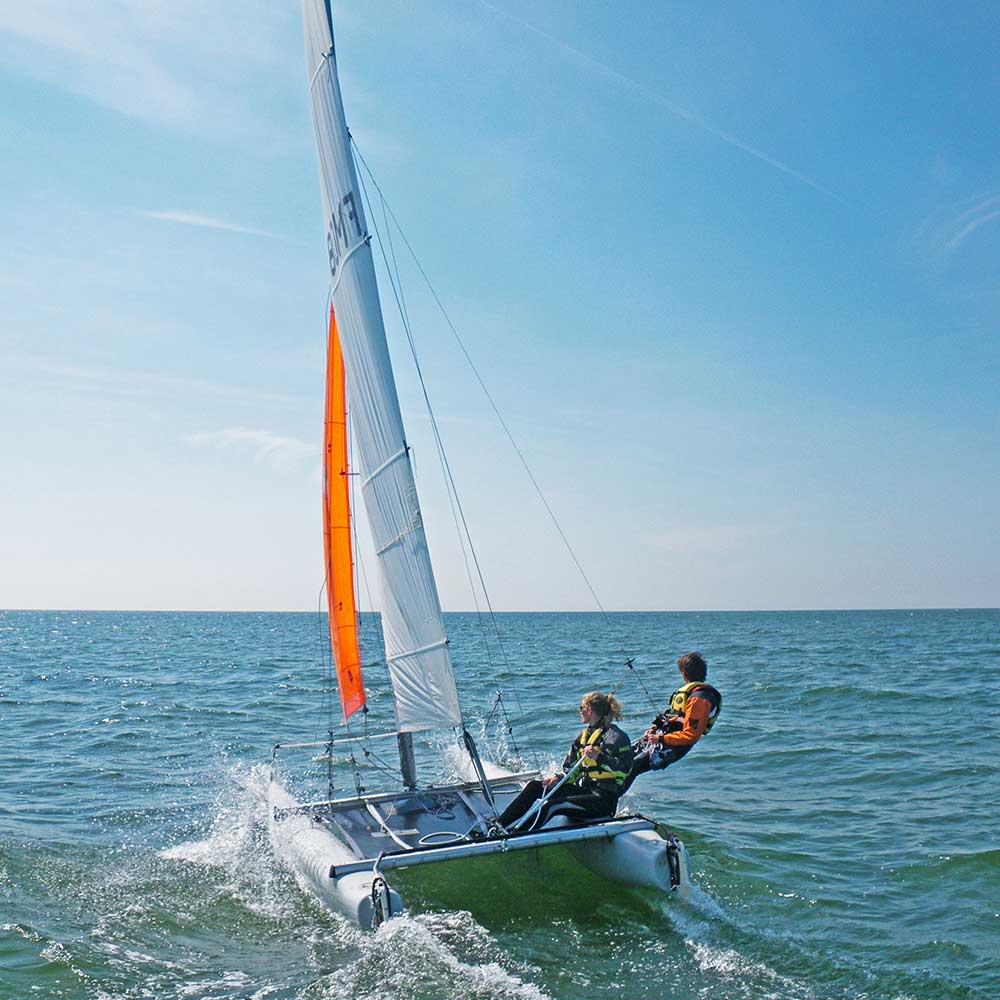 Catamarant a l'île de Ré