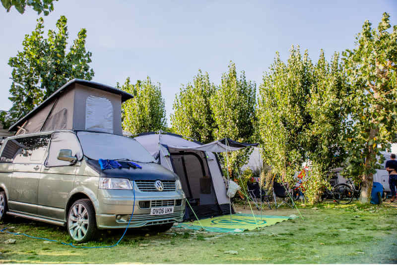 camping eiland van re-sites familie