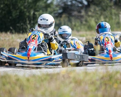 Karting sur l'ile de ré