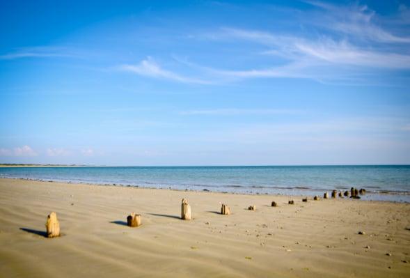 Plage de la Couarde sur mer a l'île de Ré