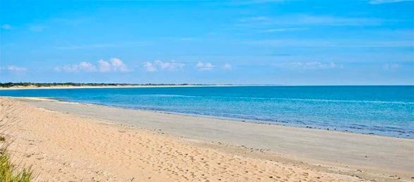 Beach in La Flotte en Ré