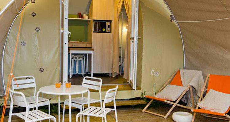 Campingplatz Vermietung 4 Sterne ile de re