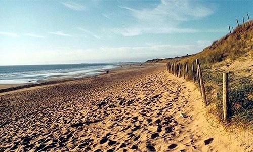 La plage de la Charge Neuve