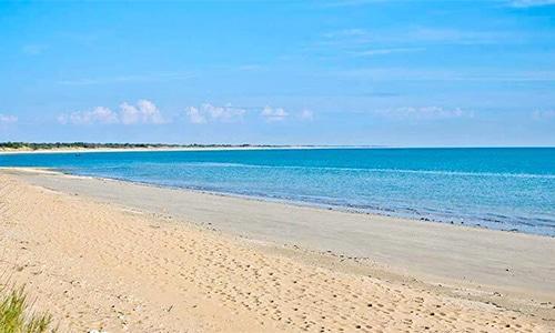 La plage des Anneries