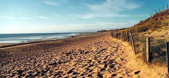 Beaches of Le Bois Plage en Ré