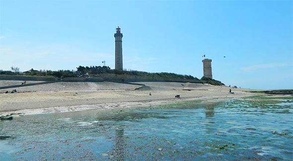 Beach in Loix en Ré