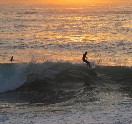 Surf on the Ile de Ré