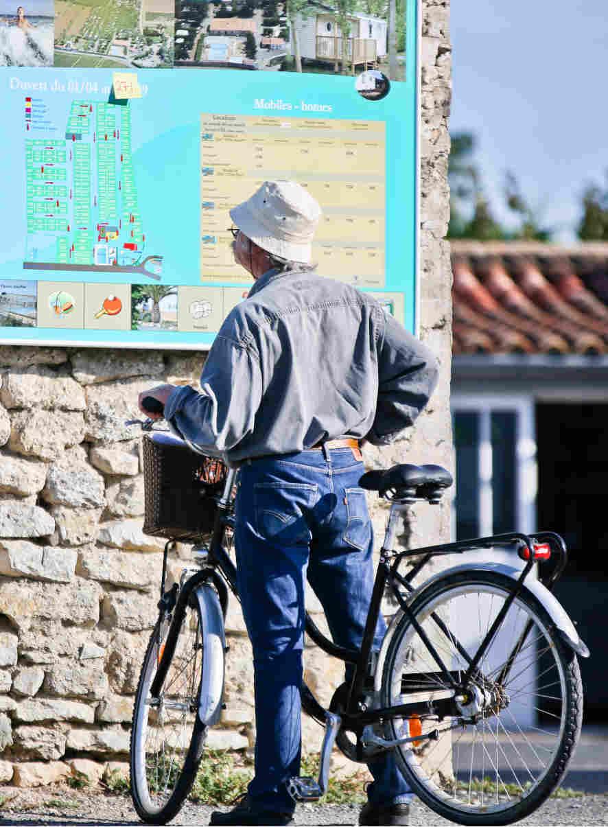 um Ile de Ré mit dem Fahrrad zu besuchen