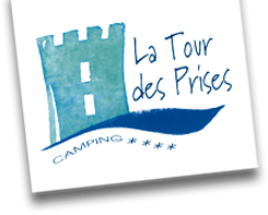 logo camping la tour des prises