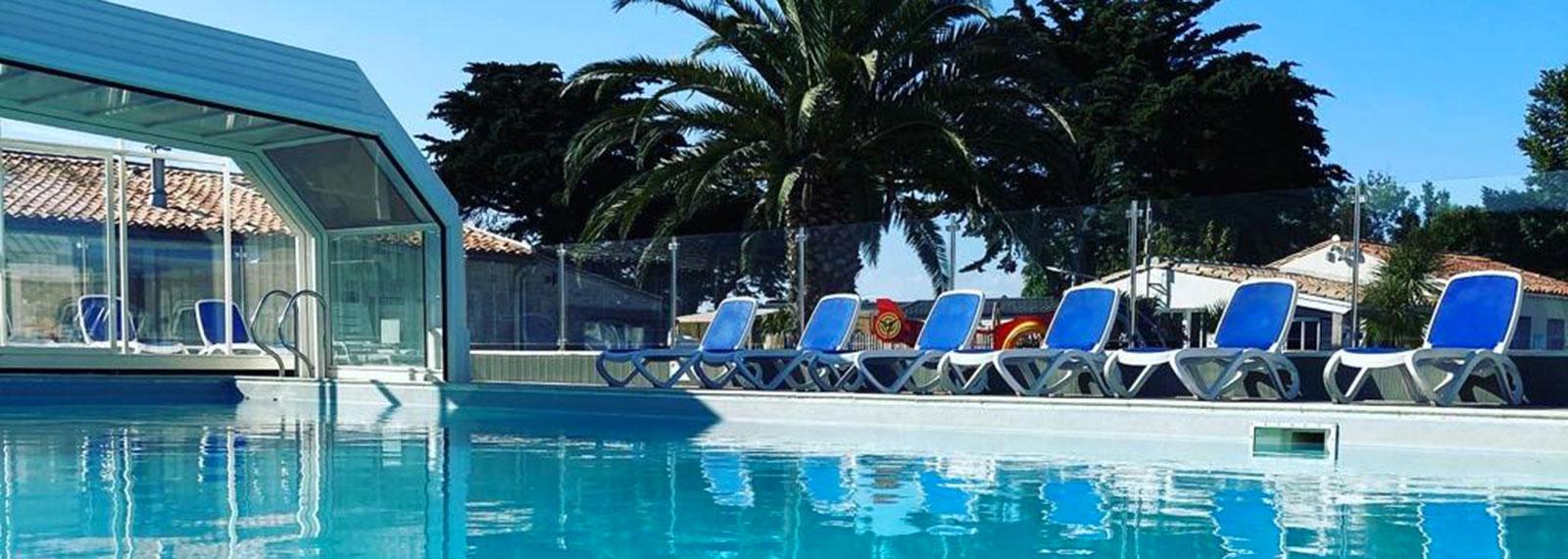 camping île de ré avec piscine couverte
